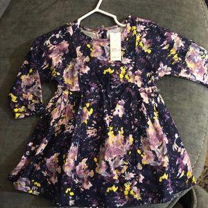 Flowery Flowy Toddler Dress